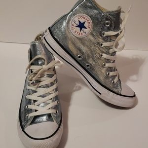 CONVERSE All Star Chuck Taylor Metallic Hi Tops